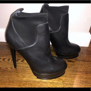 Steve Madden, Black Booties, Size 8.5